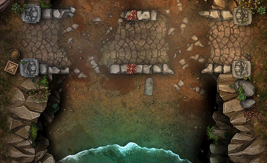 flooding canyon map